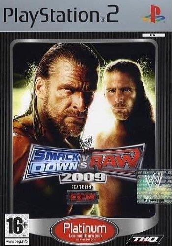 WWE Smackdown vs Raw 2009 Platinum [importación francesa]