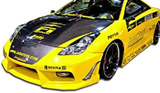 Brightt Duraflex ED-NIY-578 Bomber Front Bumper Cover - 1 Piece Body Kit - Compatible With Celica 2000-2005