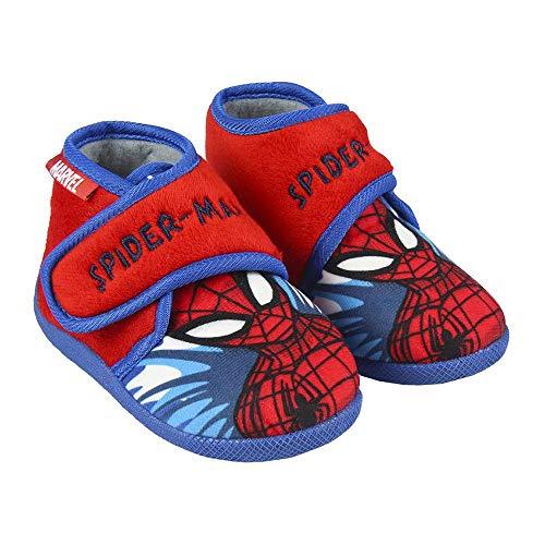 CERDÁ LIFE'S LITTLE MOMENTS 2300004560_T024-C06, Zapatillas Casa Spiderman Niño-Licencia Oficial Marvel para Niños, Rojo, 24 EU