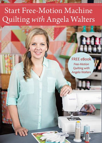 Start Free-Motion Machine Quilting With Angela Walters [Reino Unido]