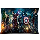 Custom Marvel Comics Avengers Pillowcase Standard Size Design Cotton Pillow Case