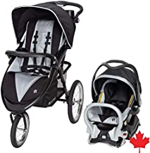 Baby Trend Expedition Premiere Jogger Travel System, Gray, Set of 1