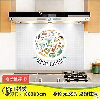 Cuisine étanche à l'huile autocollant poêle tuile étanche papier autocollant armoire de cuisine 9