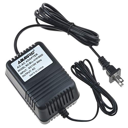 ABLEGRID AC/AC Adapter Fit for Lava HD- 2605 Ultra Indoor Outdoor Remote Controlled HDTV Antenna Power Supply Cord Cable PS Wall Home Charger Mains PSU