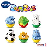 VTech - Zoomizooz - Coffret 6 animaux Jungle - Animaux à collectionner