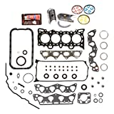 Domestic Gaskets Engine Rering Kit FSBRR4029EVE Compatible With 96-00 Honda Civic 1.6 D...