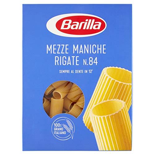 Barilla Pasta Mezze Maniche Rigate, 500g