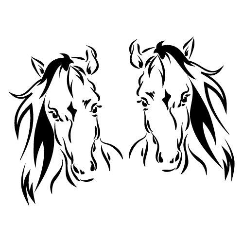 2 calcomanías para remolques flotantes de caballos, 4 x 4 cm, Ute Country Aussie
