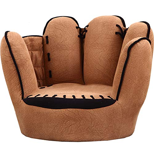 GX&XD Baseball Glove Shaped Children's Sofa,Fingers Style Kid's Chair Children Armchair Microsuede...