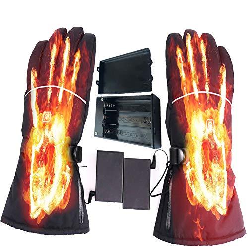 BUY-TO winterskihandschoenen elektrisch verwarmd warm 3 standen temperatuur handbediening verwarmer voor skiën fietsen paardrijden geen batterij