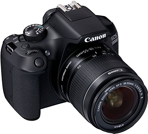 Canon EOS 1300D EF-S 18-55 IS II - 55 is