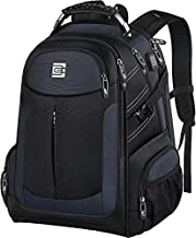 Travel Backpack for Men, Large Business Anti Theft Durable Laptop Backpack with USB Charging Port, Water Resistant College School Computer Bookbag Gifts for Men Women Fits 15.6 Inch Notebook, Blue