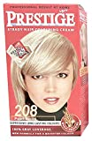 Vip's prestige crema colorante para el cabello, color rubio perla 208
