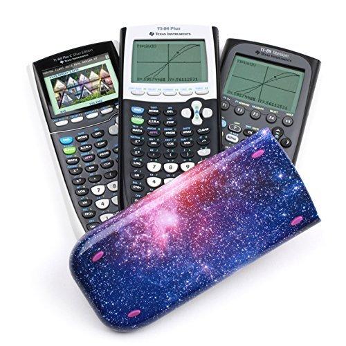 Guerrilla Hard Slide Case-Cover for TI-84 Plus, TI 84-Plus C Silver Edition, TI-89 Titanium Graphing Calculator, Starbursts Photo #6