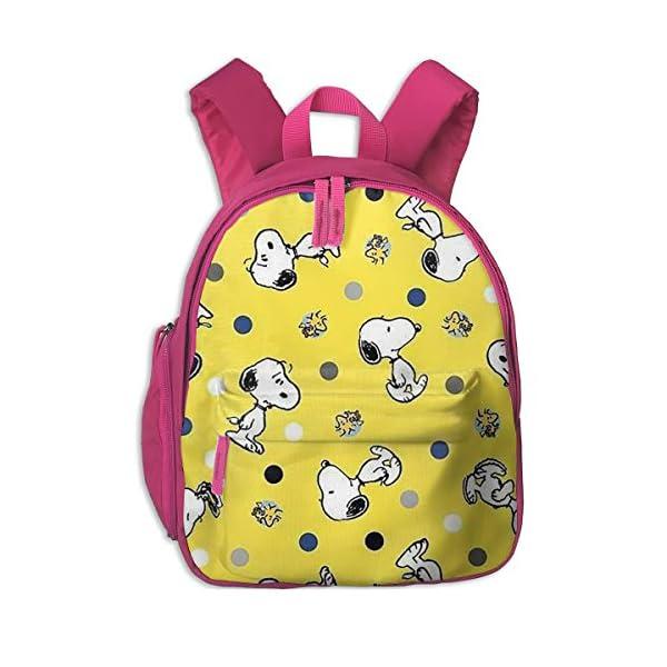 51BUmAm+r8L. SS600  - Snoopy Imprimir Mochilas Escolar Para Niñas Niños Niños Escuela Primaria Bolsas Librero Al Aire Libre Daypack