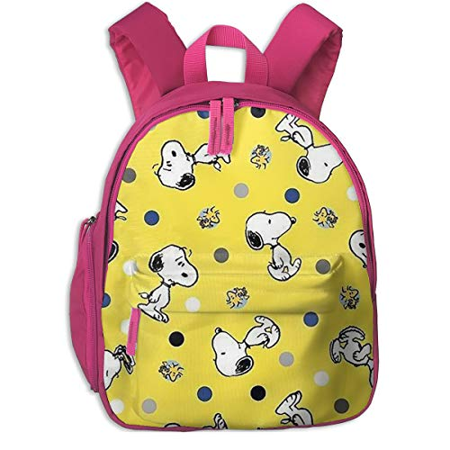 51BUmAm+r8L - Snoopy Imprimir Mochilas Escolar Para Niñas Niños Niños Escuela Primaria Bolsas Librero Al Aire Libre Daypack