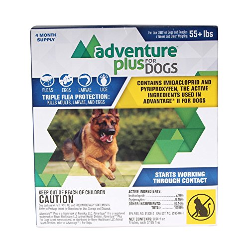 Adventure Plus for Dogs 4pk 55lb+