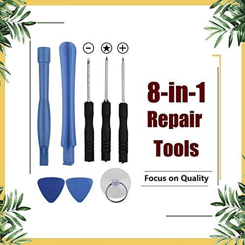 zNLIgHT Interne Telefoon Onderdelen | 8 in 1 Telefoon Reparatie Gereedschap Kit Zuignap Mini Schroevendraaiers Pry Bar Plaat Set, OneSize, Onecolor