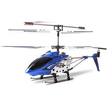 Syma S107n - Elicottero con guida a infrarossi, 3 canali, controllo giroscopico della stabilità