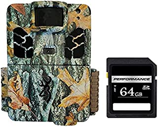 Browning Trail Cameras 20MP Dark Ops Pro X Game Cam, Camo BTC-6HDPX with SD 64 GB Card