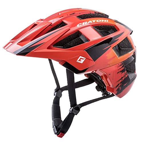 Cratoni Unisex– Erwachsene AllSet (MTB) Fahrradhelm, Rot, One Size