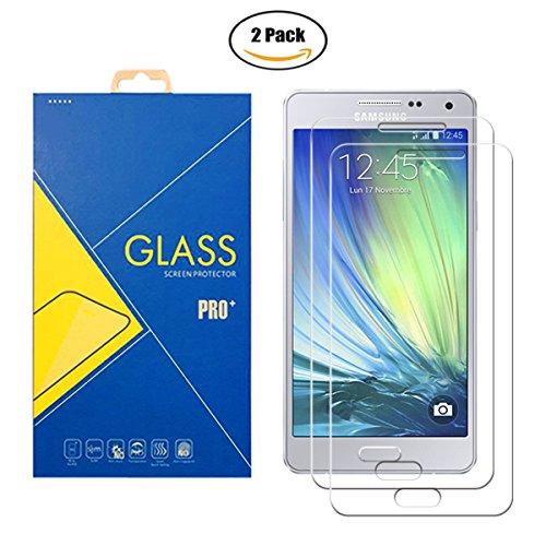 [2 Pack] Panzerglas Schutzfolie Samsung Galaxy A5 2015 SM-A500 / A500F / A500FU – Gehärtetem Glas Schutzfolie Displayschutzfolie für Samsung Galaxy A5 2015 SM-A500 / A500F / A500FU