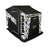 Frabill 4012662 Bro Flip-Over Shelter-Arctic Camo, One Size, Multi/Brown