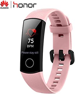 Huawei Honor Band 4 Smart Wristband Pantalla táctil de Cristal 2.5D Bluetooth Monitor de Ritmo cardíaco -Rosa