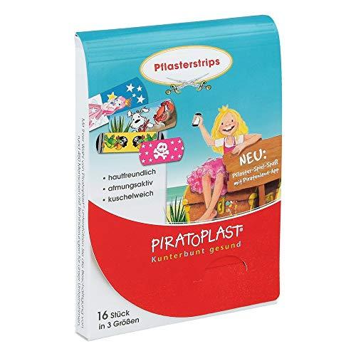 Piratoplast Pflasterstrips für Mädchen, 16 St