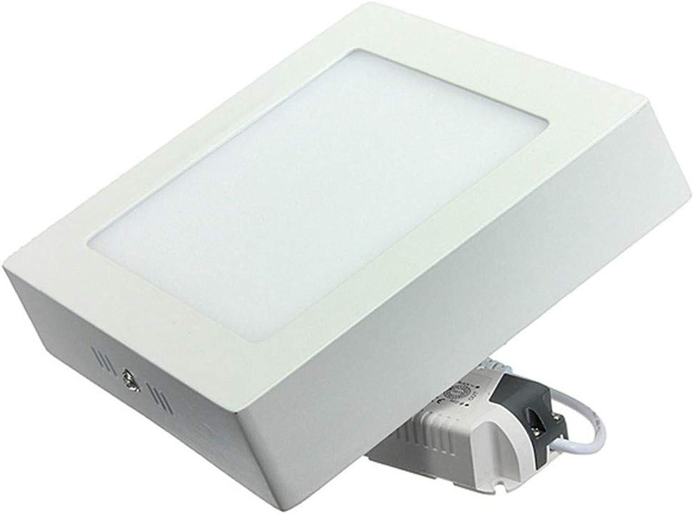 SAIUFG 9W 15W 25W führte Oberflchendecken-Licht-Platte führte hinunter Lampen-warmes weies natürliches weies kaltes weies geführtes Innenlicht, 9W, warmes Weiß3000K