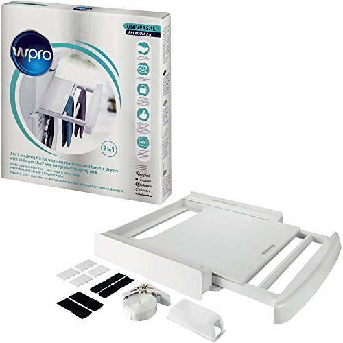 Wpro SKP101 Stacking kit - Piezas y accesorios de secadoras (Stacking kit, White, Plastic, Box, CE, 600 mm)