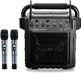 Denon Professional Convoy – Enceinte Portable de 40 W avec Connectivité Bluetooth, 2 Microphones, Batterie Rechargeable et 2 Voies UHF sans Fil