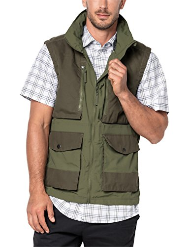 Jack Wolfskin Barstow (Gilet pour Homme S Vert Woodland