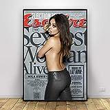 QAQTAT Mila Kunis Filmschauspielerin Star Poster Leinwand