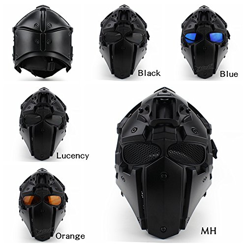 Full-covered taktischen Outdoor Motorrad Helm mit Maske Schutzbrille für Jagd Paintball Military Cosplay Movie Prop - 8