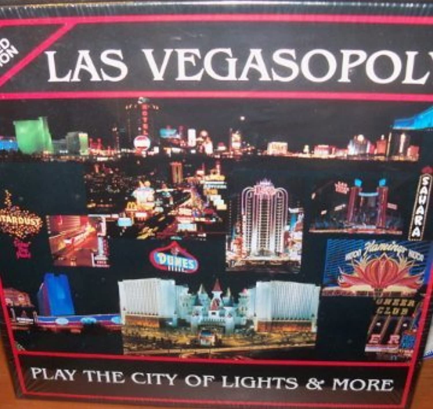 Las Vegasopoly Limited Edition Game