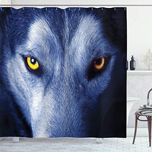 cortinas baño lobo
