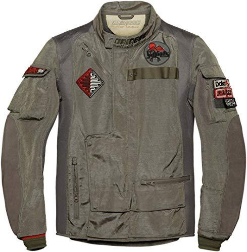 DAINESE Alger Tex Jacket, Giacca Moto stile Vintage Rétro