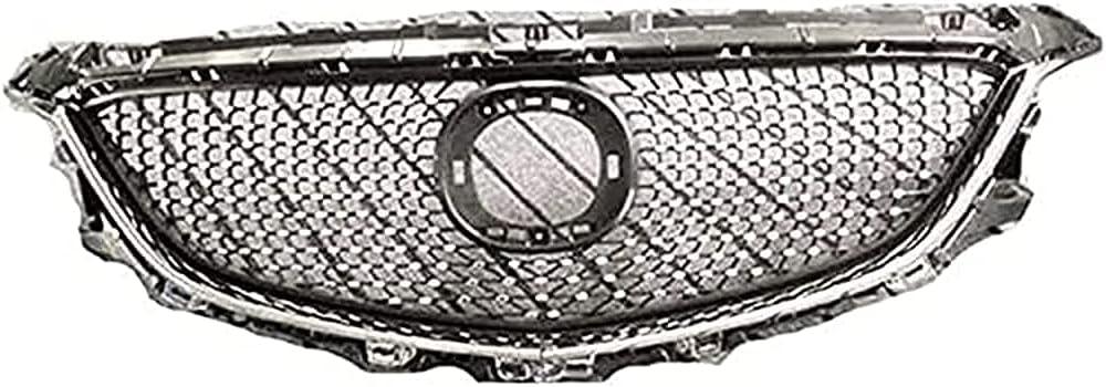 FWC Rejilla Frontal De Coche para Mazda 6 Atenza 2014-2016, Parachoques De Malla De Nido De Abeja Rejillas De Radiador Frontal Accesorios De Cubierta De Parrilla Máscara De Parrilla Estilo De Cue