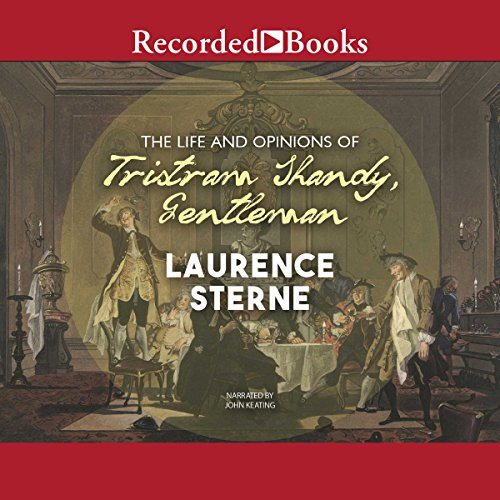 The Life and Opinions of Tristram Shandy, Gentleman audiobook cover art