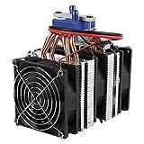 Mogzank El Enfriador Peltier TermoeléCtrico Semiconductor de 120W12V Es Adecuado para Radiador de Agua FríA de Acuario