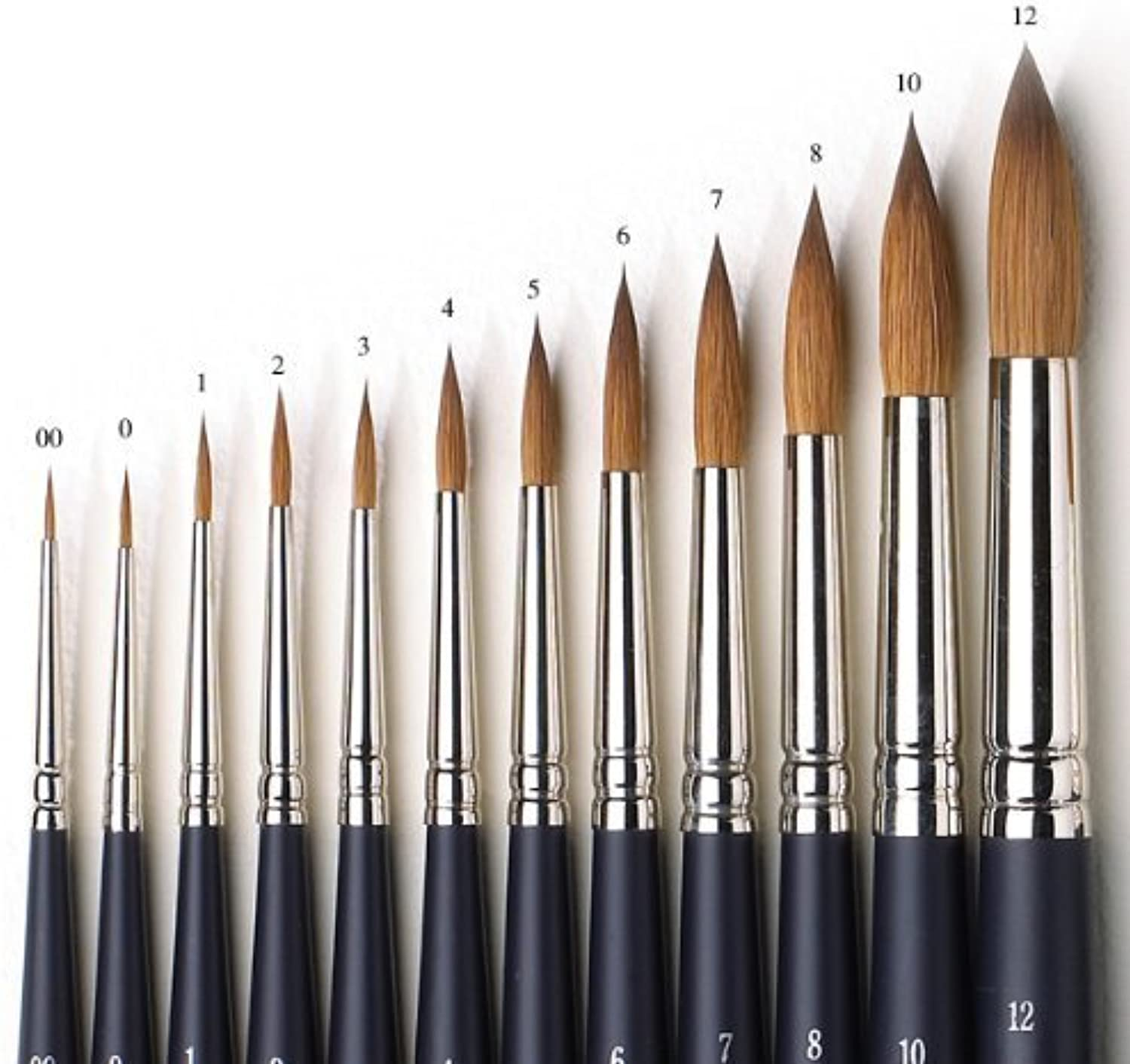 Winsor and Newton Artists Watercolour Sable Brush Round Size 0 by Winsor & Newton