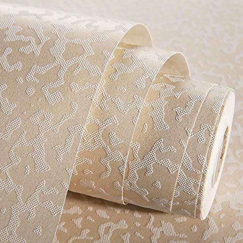 ZH HOME kleister Kontakt papier Langlebig Möbelfolie Retro Fototapete Non-Woven-3D-Papier, glatt, abstrakt, kleberfrei, 0,53 x 5 m, 99092