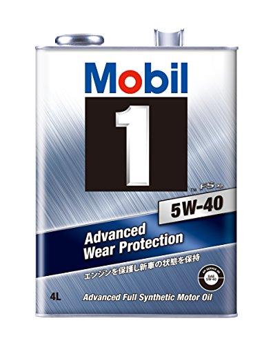 Mobil エンジンオイル モービル1 FS X2 5W-40 化学合成油 4輪ガソリン・ディーゼルエンジン車用 SN 4L 117438