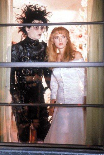 Edward Scissorhands Johnny Depp Winona Ryder 60 x 91 cm