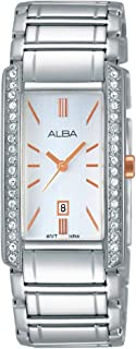 Alba Stainless Steel Casual Watch For WoMen, AH7F63X1