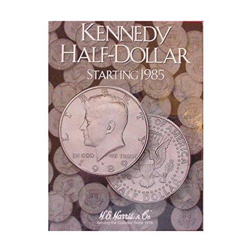 New Harris Kennedy Half Dollar 1985- Coin Folder 2697