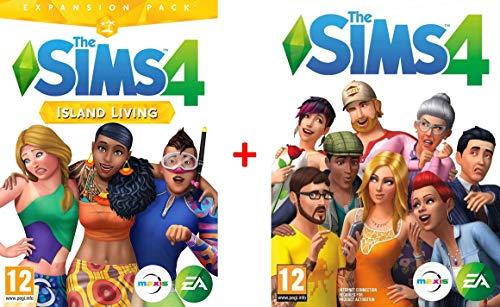 The Sims 4 - Vita Sull'Isola | Codice Origin per PC PLUS The Sim 4 Gioco base gratuito in bundle regalo