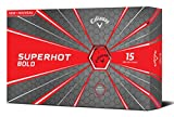 Callaway Superhot '18 Golf Ball (15 Ball Pack, Bold Red)