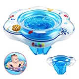 Vercrown Baby Swimming Ring, Inflatable Baby Pool Float Seat Boat Safety PVC Infant